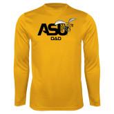 Syntrel Performance Gold Longsleeve Shirt-Dad