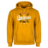 Gold Fleece Hoodie-2016 SWAC Champions Baseball