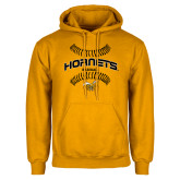 Gold Fleece Hoodie-Baseball Seams