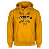 Gold Fleece Hoodie-Baseball Seams