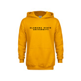 Youth Gold Fleece Hoodie-Alabama State University