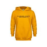 Youth Gold Fleece Hoodie-Alabama State University