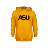 Youth Gold Fleece Hoodie-ASU