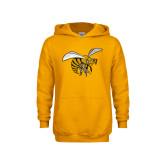 Youth Gold Fleece Hoodie-Hornet