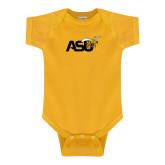 Gold Infant Onesie-Official Logo
