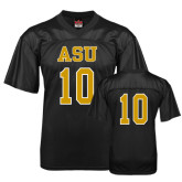 Replica Black Adult Football Jersey-#10