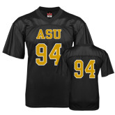 Replica Black Adult Football Jersey-#94