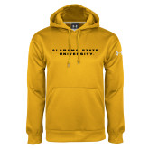 Under Armour Gold Performance Sweats Team Hoodie-Alabama State University