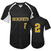 Replica Black Adult Baseball Jersey-#2