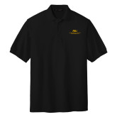Black Easycare Pique Polo-ASU Alabama State University