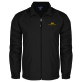 Full Zip Black Wind Jacket-ASU Alabama State University