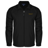 Full Zip Black Wind Jacket-Alabama State University
