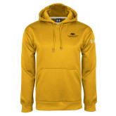 Under Armour Gold Performance Sweats Team Hood-ASU Alabama State University