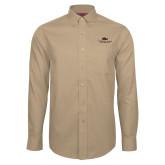 Red House Tan Long Sleeve Shirt-ASU Alabama State University