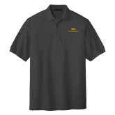 Charcoal Easycare Pique Polo-ASU Alabama State University