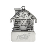 Pewter House Ornament-Official Logo Engraved