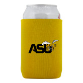 Neoprene Gold Can Holder-Official Logo