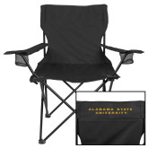 Deluxe Black Captains Chair-ASU Alabama State University