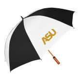 62 Inch Black/White Umbrella-ASU