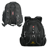 Wenger Swiss Army Mega Black Compu Backpack-ASU Alabama State University