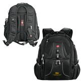 Wenger Swiss Army Mega Black Compu Backpack-ASU Alabama State University