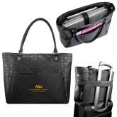 Sophia Checkpoint Friendly Black Compu Tote-ASU Alabama State University