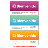 2 x 4 Banner-Spanish Welcome Sign