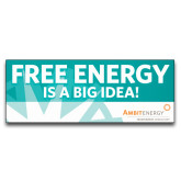 3 x 8 Banner-Free Energy Is A Big Idea