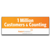 3 x 8 Banner-1 Million Customers & Counting