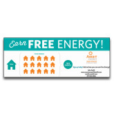 3 x 8 Banner-Earn Free Energy, Personalized
