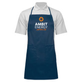 Full Length Navy Apron-Ambit Energy Japan