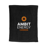 Black Rally Towel-Ambit Energy Canada