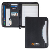 Wall Street Black Zippered Padfolio-Ambit Energy
