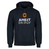 Navy Fleece Hoodie-Ambit Energy
