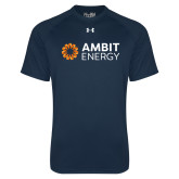 Under Armour Navy Tech Tee-Ambit Energy