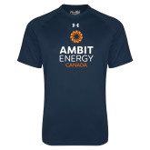 Under Armour Navy Tech Tee-Ambit Energy Canada