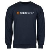 Navy Fleece Crew-Ambit Energy