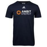 Adidas Climalite Navy Ultimate Performance Tee-Ambit Energy