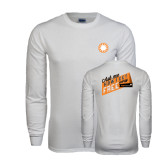 White Long Sleeve T Shirt-Ask Me How