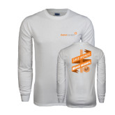 White Long Sleeve T Shirt-Save Money Make Money