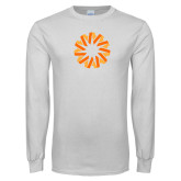 White Long Sleeve T Shirt-Spark