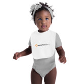 White Baby Bib-Ambit Energy