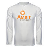 Syntrel Performance White Longsleeve Shirt-
