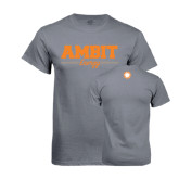 Charcoal T-Shirt-Collegiate Ambit Energy