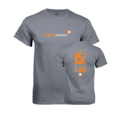 Charcoal T-Shirt-I Have 15 Friends & Now I Have Free Energy