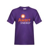 Youth Purple T Shirt-