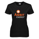 Ladies Black T Shirt-