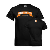 Black T Shirt-Opportuni Tee