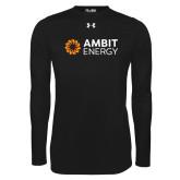 Under Armour Black Long Sleeve Tech Tee-Ambit Energy