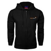 Black Fleece Full Zip Hood-